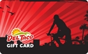 Picture of Red Biker Card